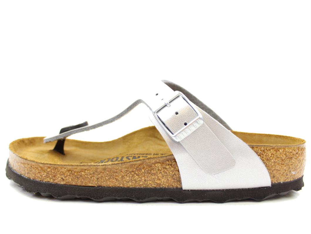 222dee82be2 Birkenstock børn sandal sølv | Gizeh silver | str. 35-39 | UDSALG