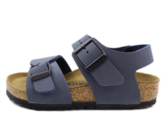 Birkenstock New York sandal navy (medium-bred)