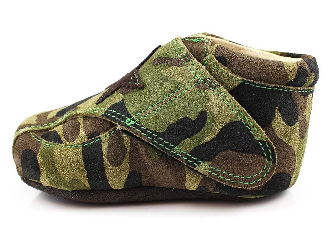d49233061c6 Arauto RAP hjemmesko grøn med stjerne   01005-32 Army   str. 20-23 ...
