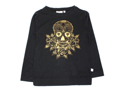 Wheat t-shirt Gold Skull black