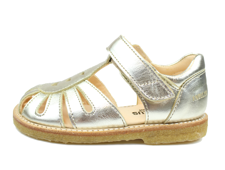 dc189512e325 Angulus sandal champagne med hjerter