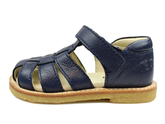 12-10075-23 Navy/Float. Navy Rap sandal