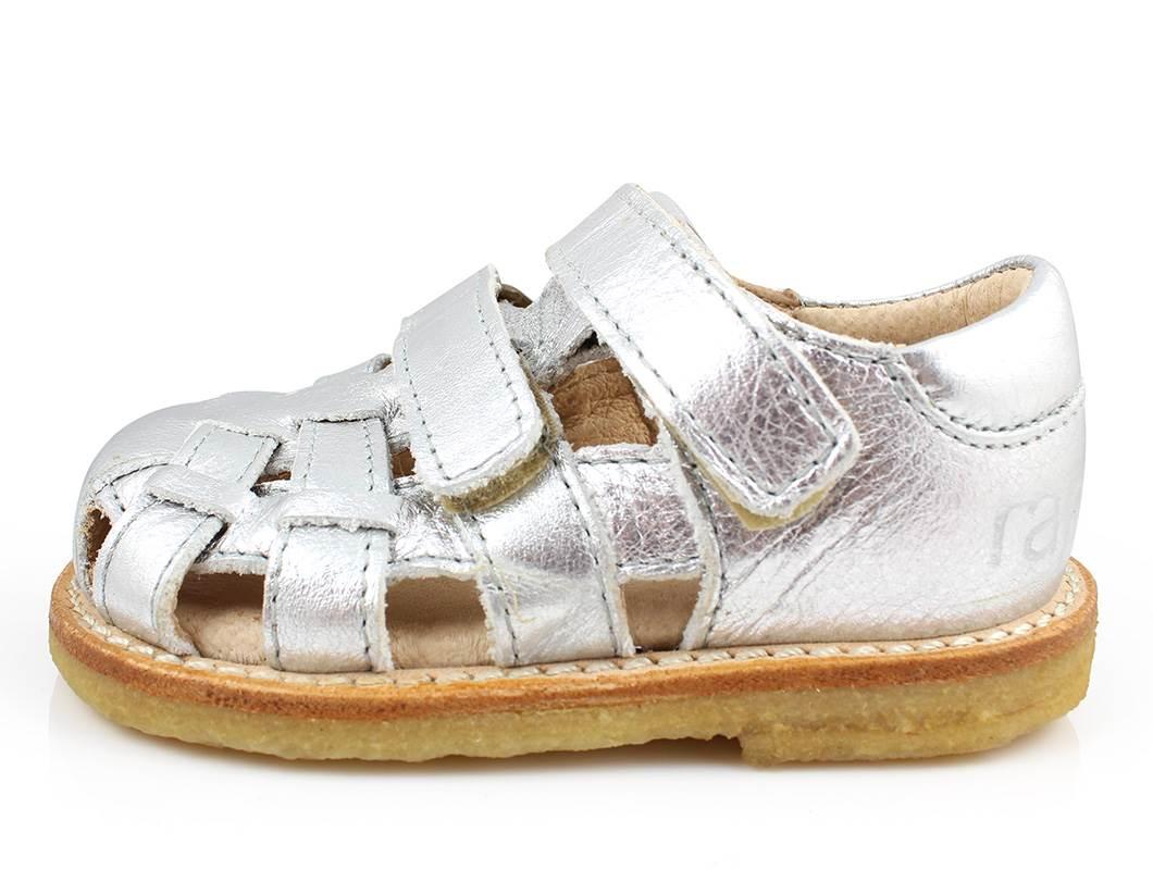 63a3b014ba7 Arauto RAP bred sandal sølv | 12006-19 silver | str. 20-30 ...
