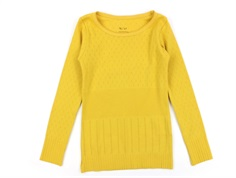Noa Noa Miniature t-shirt Doria ochre yellow