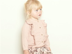 Petit by Sofie Schnoor cardigan light rose glitter