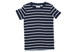 Wheat t-shirt Wagner navy striber