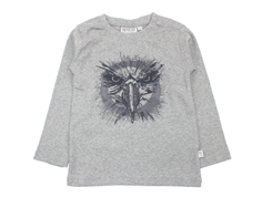 Wheat t-shirt Eagle melange grey