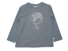 Wheat t-shirt Globe stormy weather