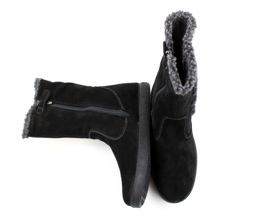 ecf5d438ead7 Primigi vinterstøvle sort til smalle fødder