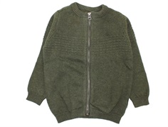 Wheat cardigan sailor army melange