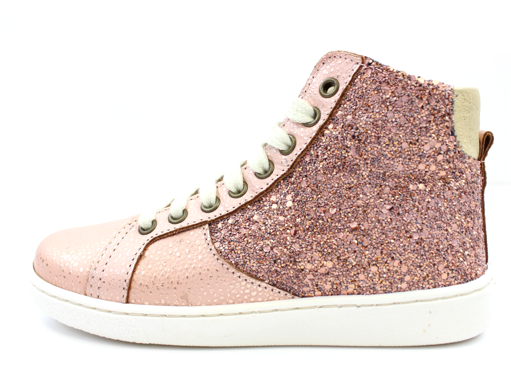 24a2a673616a Bisgaard sneakers blush glitter