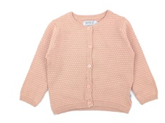 Wheat cardigan Manuela misty rose