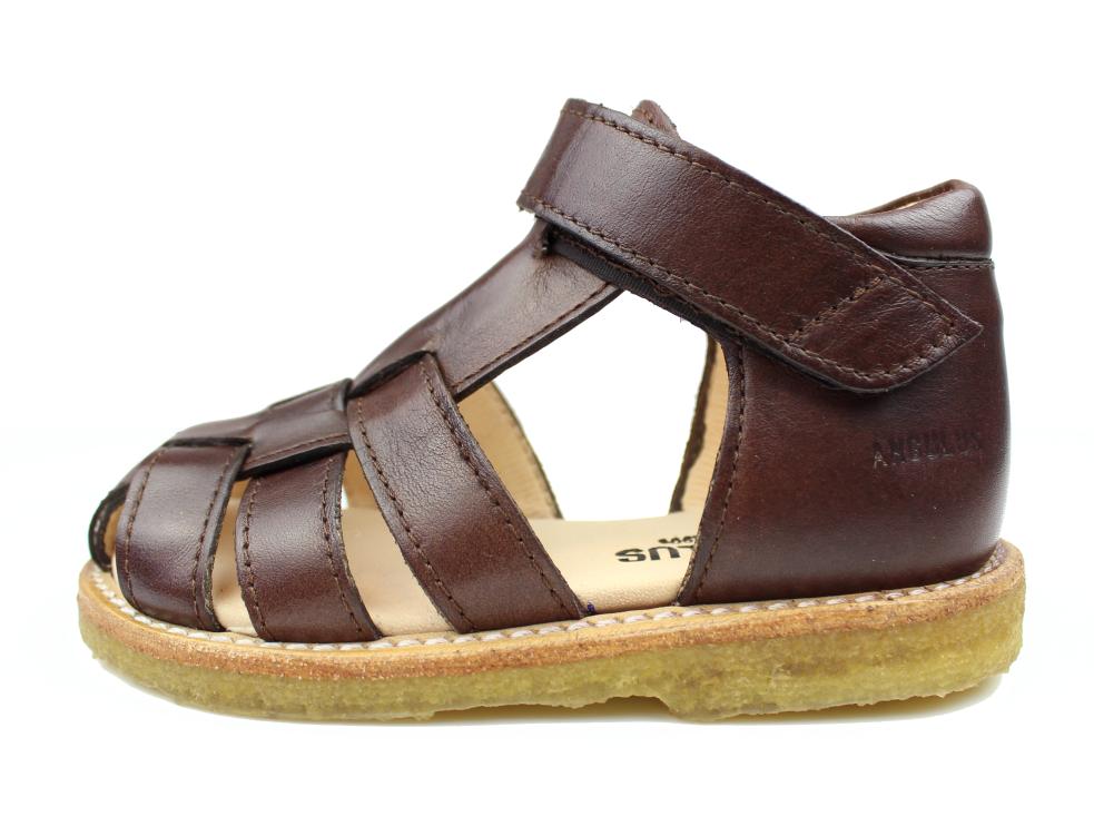 d3cf9a3ebbd Angulus sandal brun | 5019 angulus brun | Udsalget er i fuld gang ...