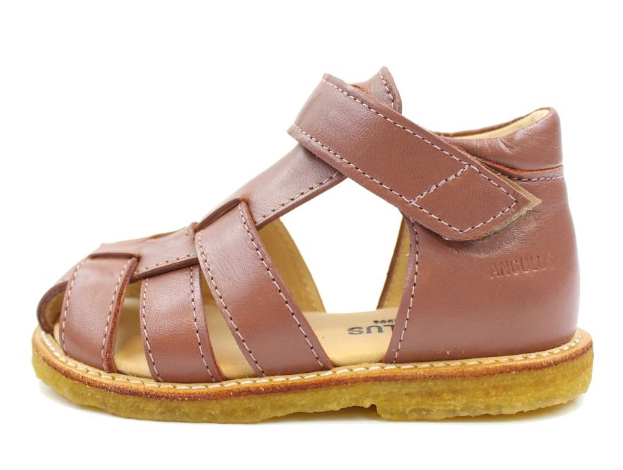 3ea5d091b45 Angulus klassisk sandal plum | 5019 | Udsalget er i fuld gang hos MilkyWalk