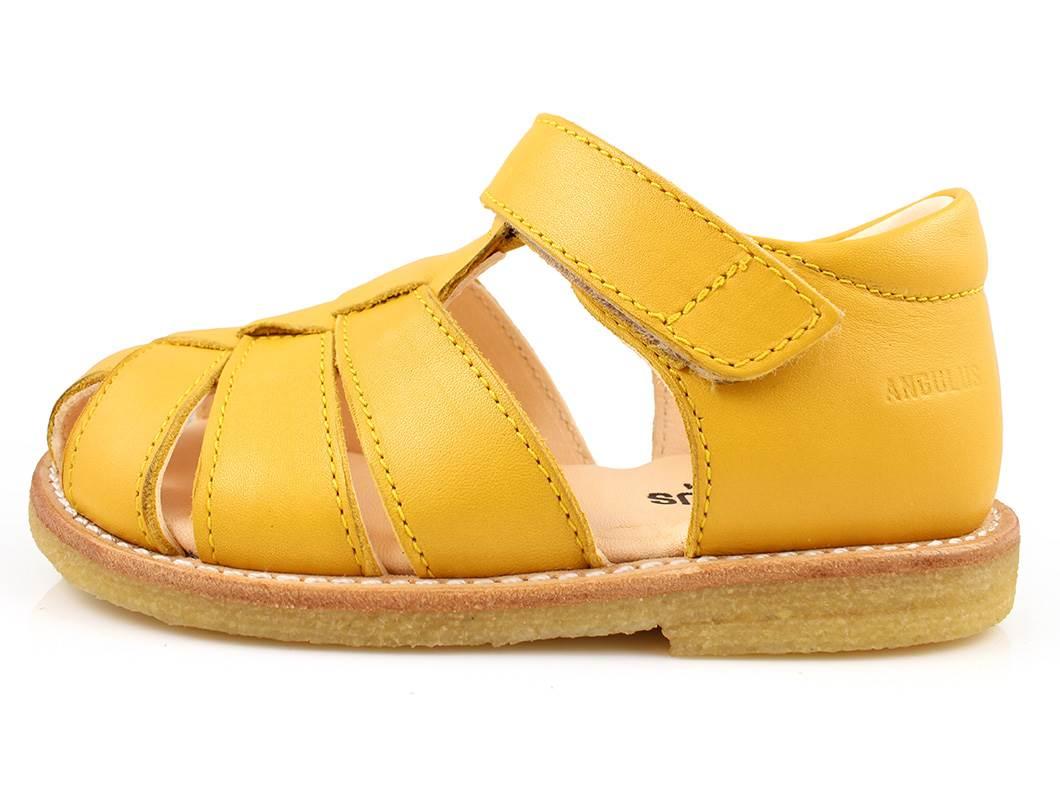 001b3b223b6c Angulus sandal gul med velcro
