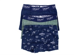 CeLaVi boxer-shorts dress blues (3-pack)