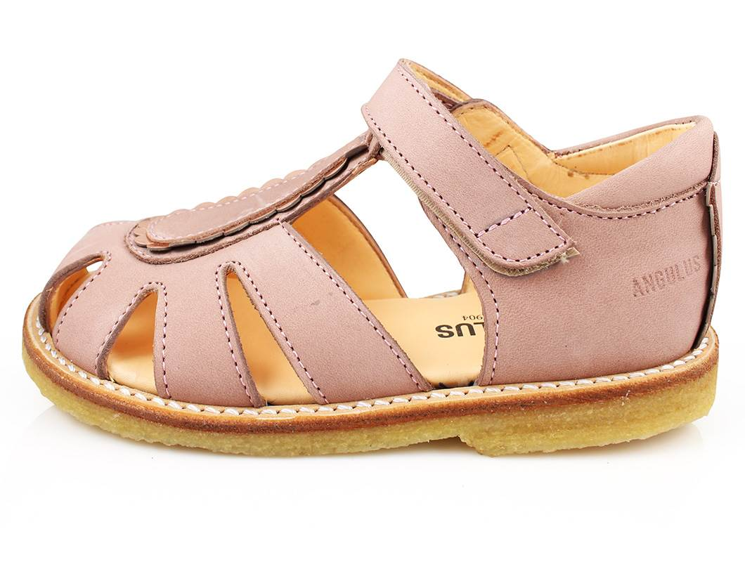 80a8bfeeecc Meget Angulus sandal dråben rosa kobber   5135-101 pink/copper   str.