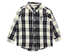 Soft Gallery skjorte Bentley black/yellow check