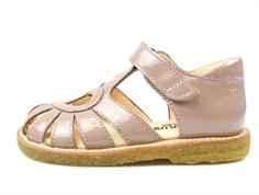 ec5b63da56fa Angulus sandal rosa lak med hjerte
