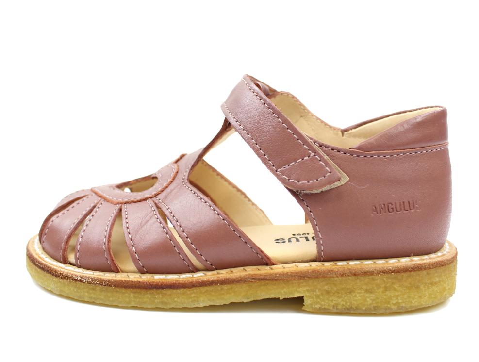 022283b9010 2019 Angulus sandal blomme med hjerte | 5186 rose | TILBUD