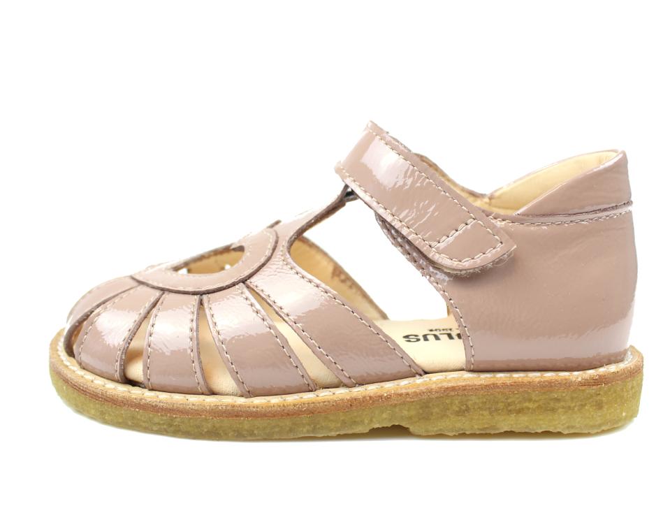 5983b4d4e2e Smal Angulus sandal rosa lak med hjerte | 5186-201 | 799,90