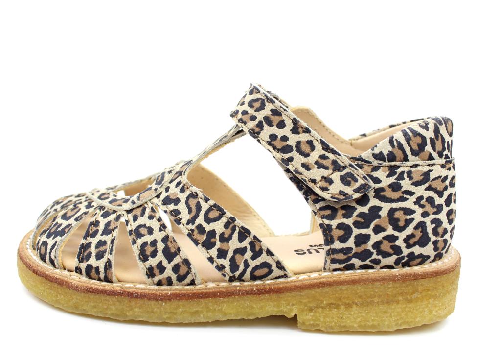 861693057347 Angulus sandal leopard med hjerte