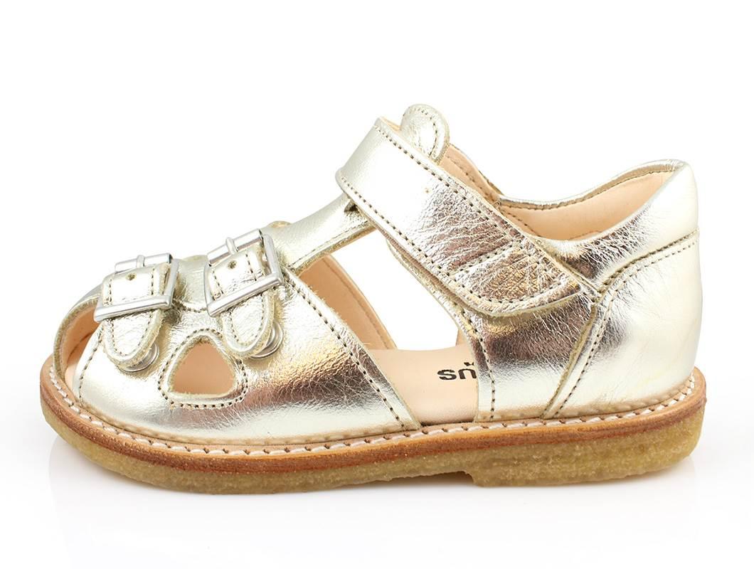 6ef74eee81b3 Angulus sandal guld champagne