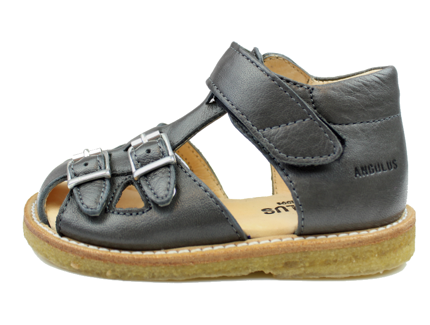 b942219cfca Angulus sandal antracit   5213-101 NAT/B grey   str. 21-25   UDSALG
