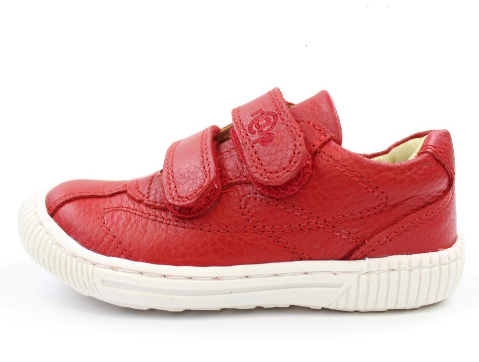 e3556272505 RAP sko rød med velcro | 55097s19 | str. 24-29 | UDSALG