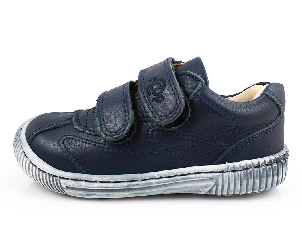 d6c54fd54d9 RAP sko navy/blå med velcro | 55-5710T-10 navy | str. 24-30 | UDSALG ...
