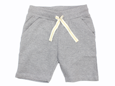 Small Rags sweatshorts neutral gray
