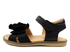 bdebf32352ff Bisgaard sandal black med blomst
