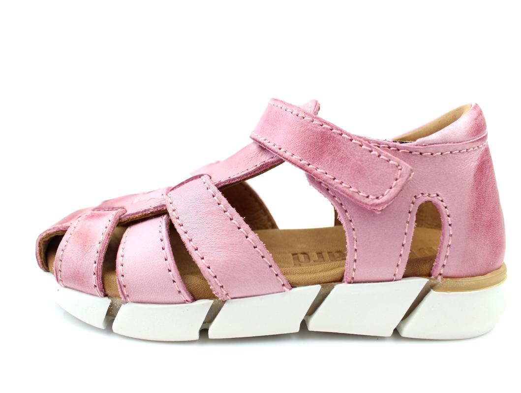 829a6d7269b Bisgaard smal sandal rosa til piger | 70267.117 701 Rose | str. 24 ...