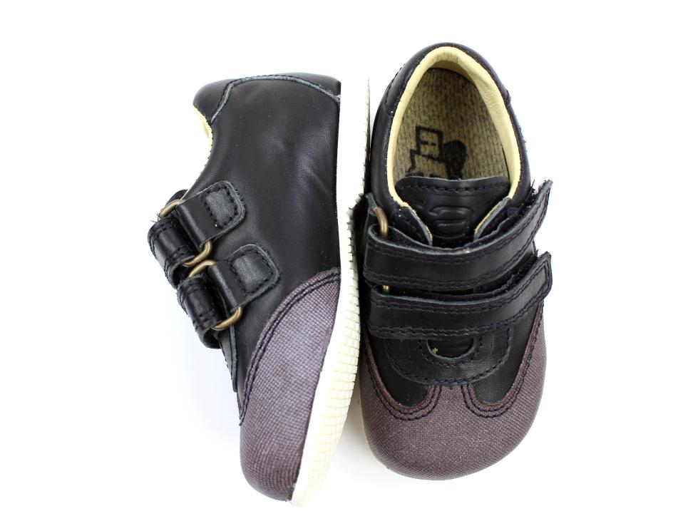 e7456303fcd Arauto RAP sko sort med velcro til brede fødder | TILBUD