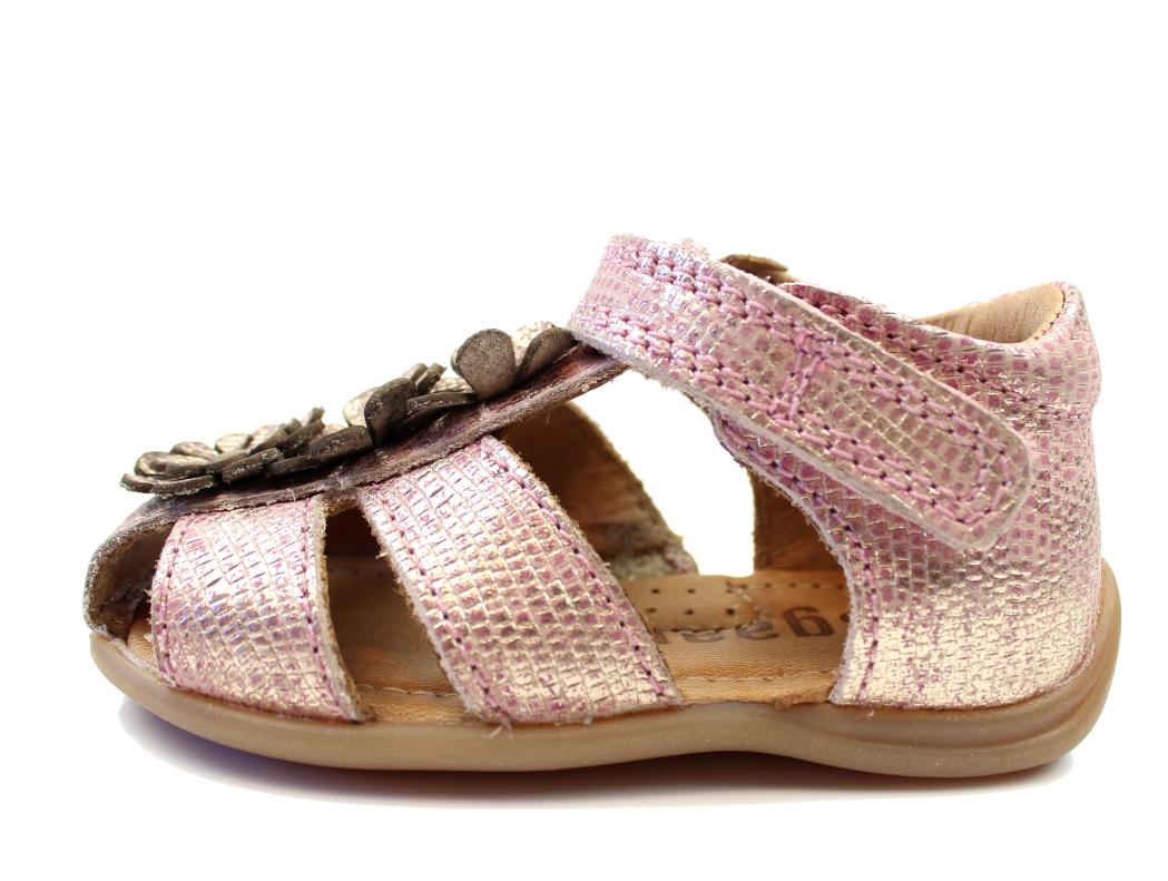 9deea6279f8 Bisgaard sandal glitter rosa | 71209.117 710 Rose | str. 20-25 ...
