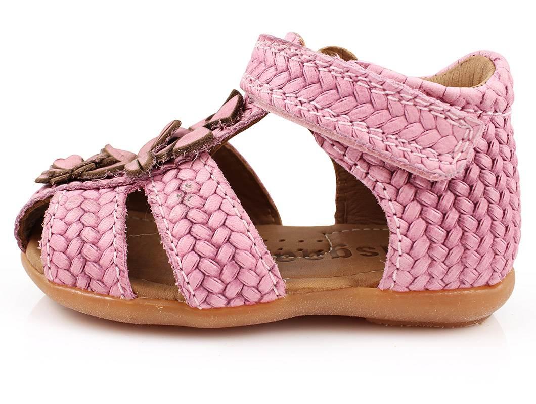 f58b216b Bisgaard sandal rosa blomster flet | 71216.115.11 bubblegum | str ...