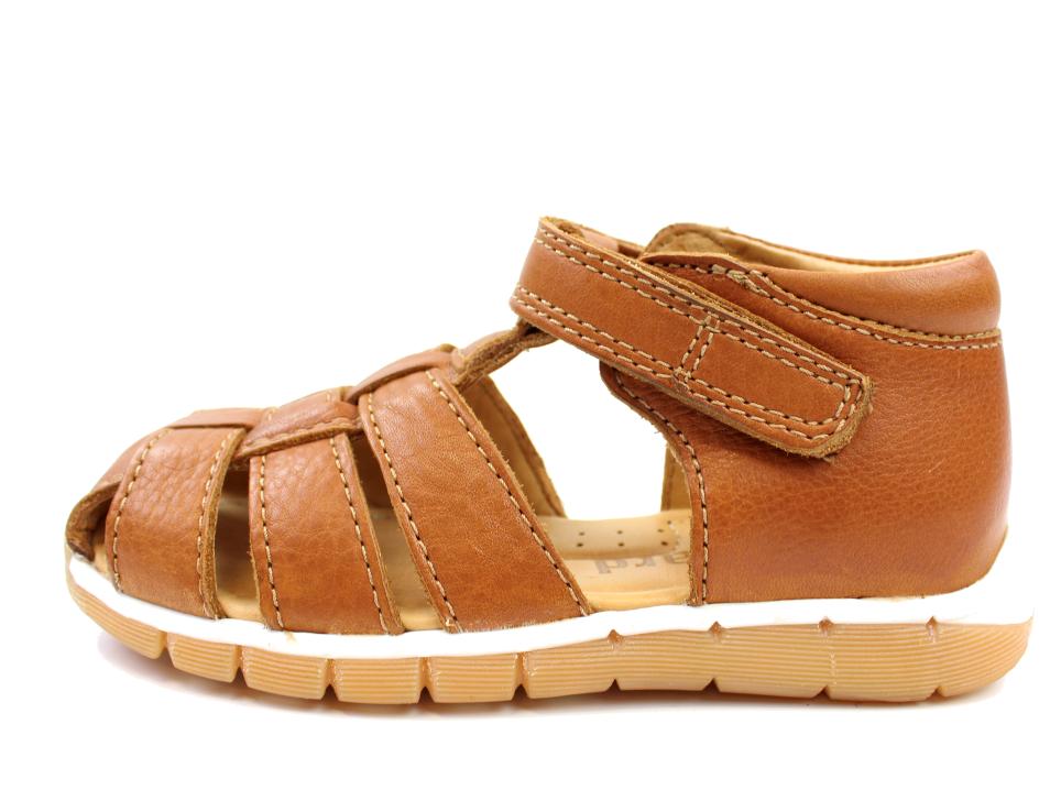 8007327a3546 Bisgaard smal sandal cognac til børn