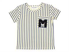 Mini Rodini Stripe t-shirt blue