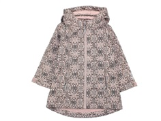 Wheat overgangsjakke/softshell jakke Frozen rose powder print