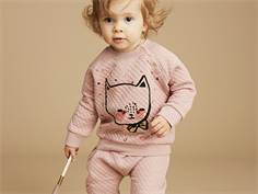 Soft Gallery Alexi sweatshirt gattino misty rose med kat