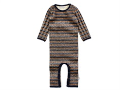 Wheat jumpsuit midnight blue stripe