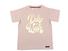 A Monday t-shirt Dare pale mauve