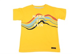A Monday t-shirt fun golden rod