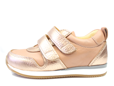 Angulus sneaker light copper peach med velcro