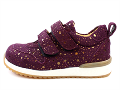 Angulus sneaker purple dot