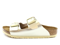 Birkenstock Arizona sandal electric metallic gold