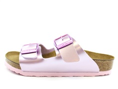 Birkenstock Arizona sandal electric metallic lilac