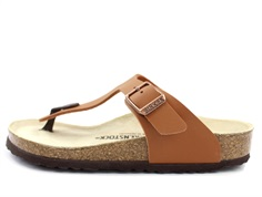Birkenstock Gizeh sandal electric ginger brown med spænde (medium-bred)