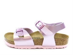Birkenstock Rio sandal electric metallic lilac (medium-bred)