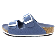 Birkenstock Arizona sandal hexagon tech blue